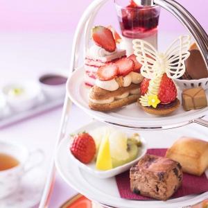 横浜ベイホテル東急「いちごアフタヌーンティー」開始!いちごスイーツづくしのティータイム