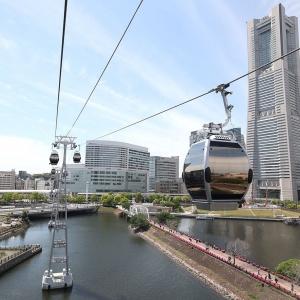 横浜ロープウェイ桜木町駅と運河パーク駅から空中散歩!乗ってみた感想とみなとみらいの景色