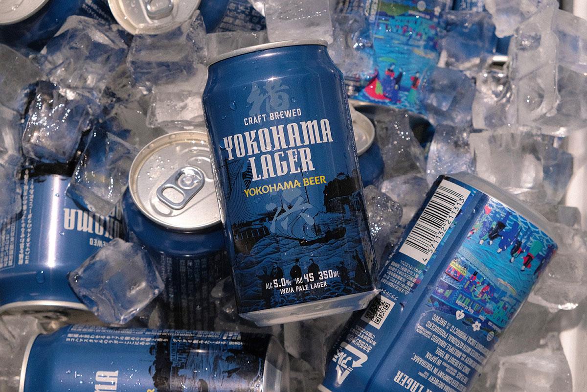 横浜ビール「横浜ラガー(缶ビール)」横浜市内や周辺エリアのファミマで数量限定・追加販売!