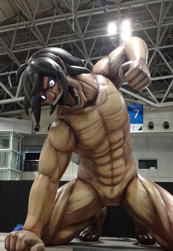 キャラクター特大フィギュア(別会場開催時イメージ)