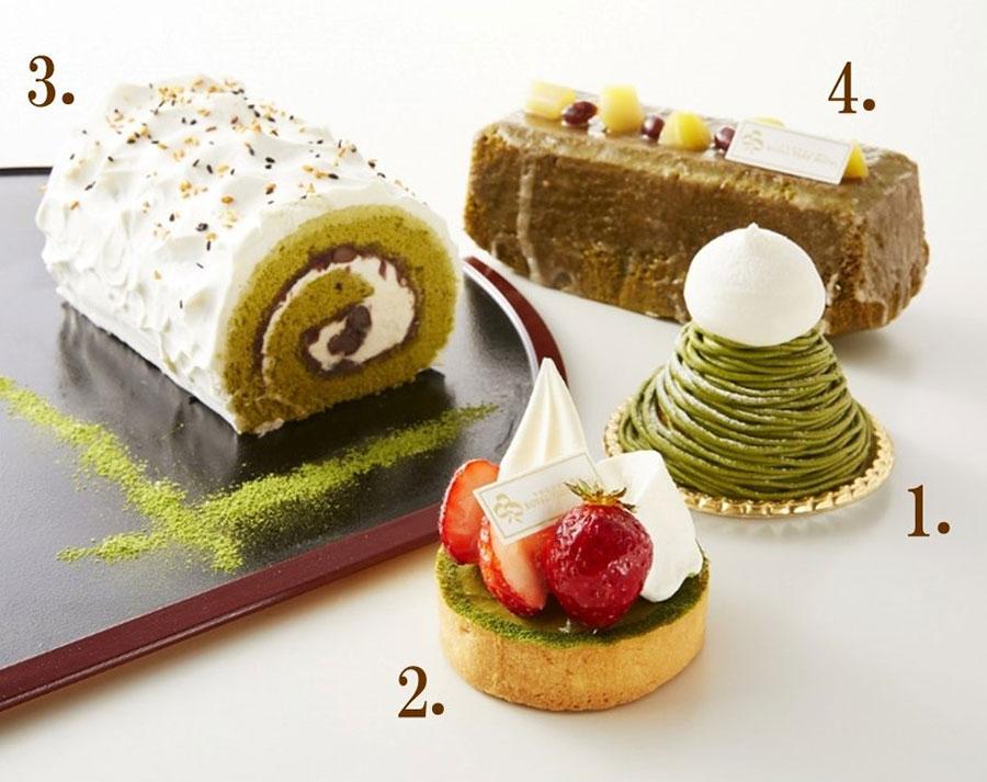 横浜ロイヤルパークホテル「抹茶フェア」開催!モンブランやクリームフォンデュなど全8種