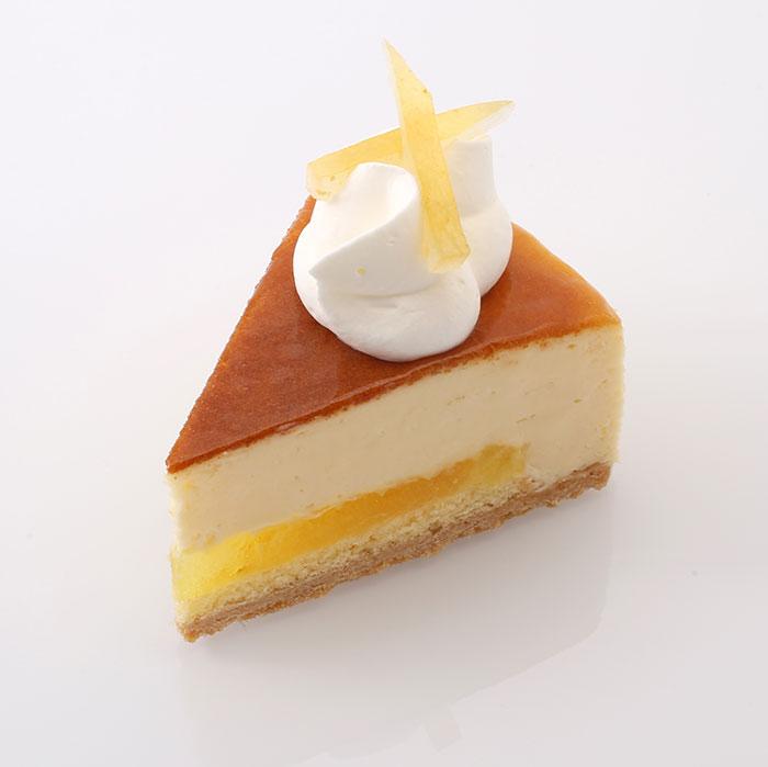 瀬戸内レモンのチーズケーキ