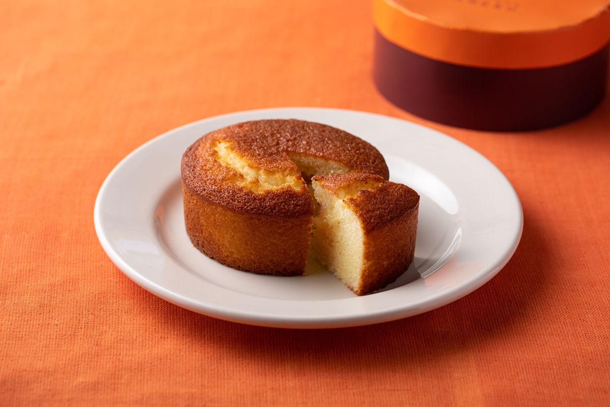 常温保存可能な高級発酵バターケーキ