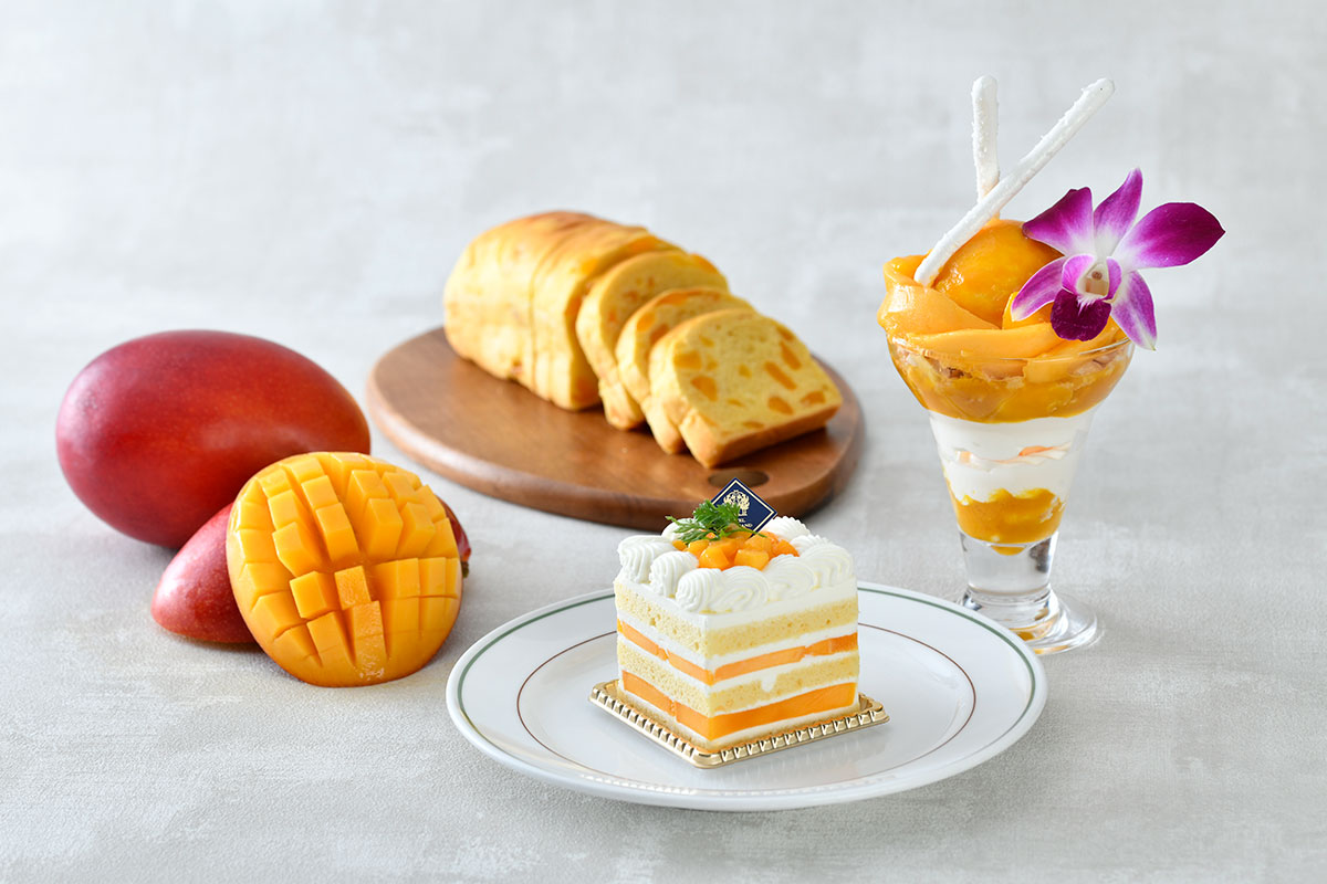 ホテルニューグランド「マンゴーフェア」開催!マンゴーパフェやプレミアムケーキ