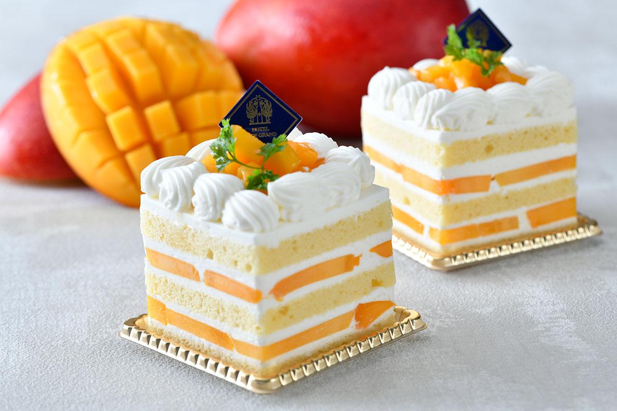 プレミアムマンゴーショートケーキ