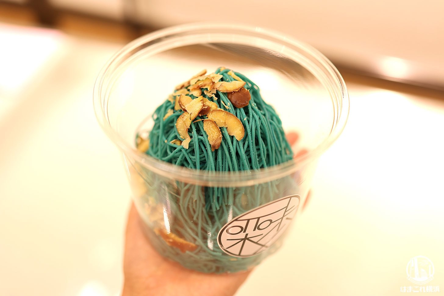 """和栗モンブラン専門「栗歩」そごう横浜店で絞り立ての""""青いモンブラン""""食べてみた!"""