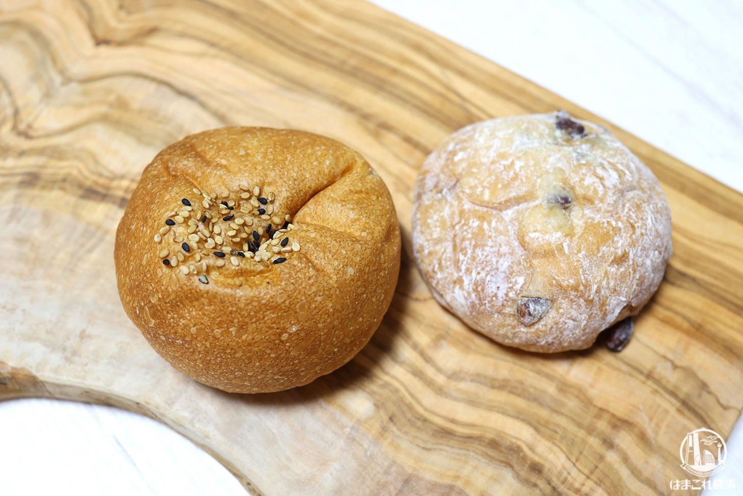 あんパンと大福パン