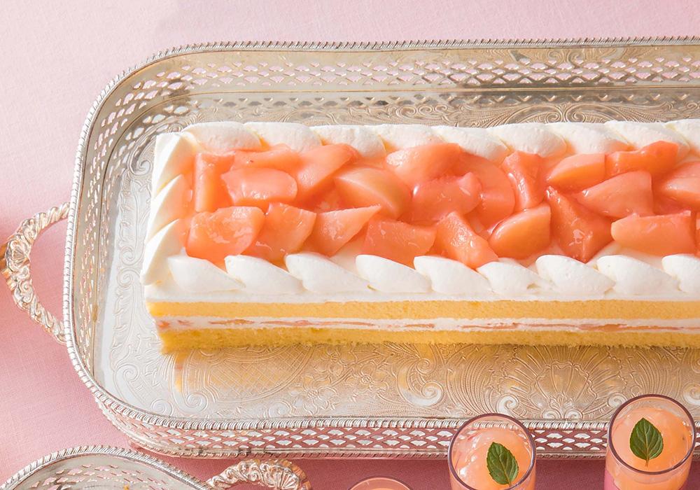 ペーシュショートケーキ