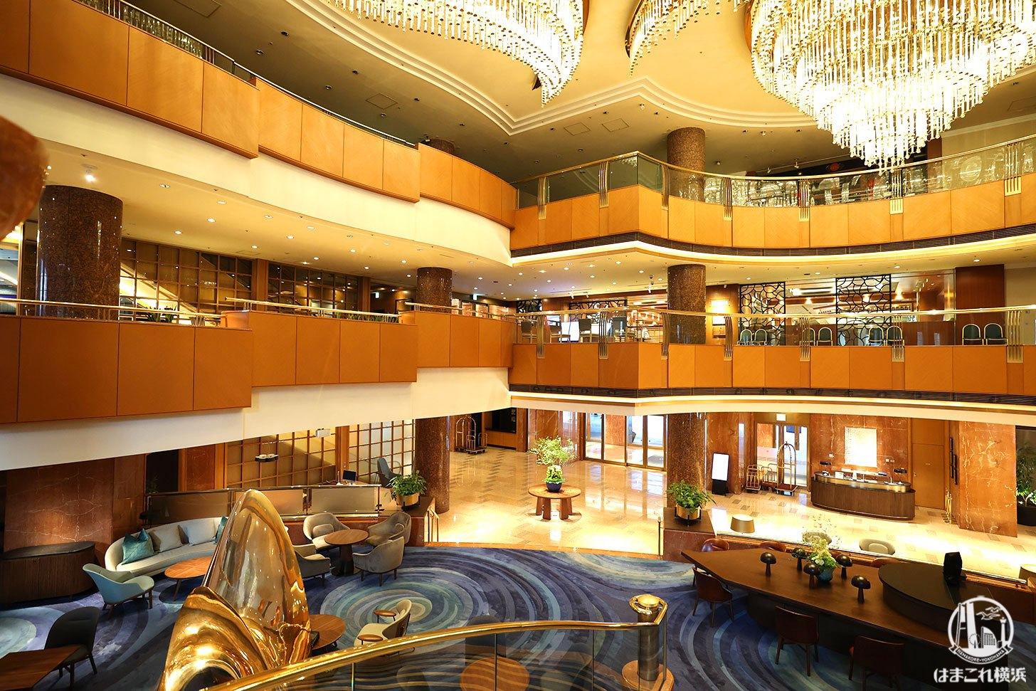 横浜ベイシェラトンホテル&タワーズ 館内の雰囲気