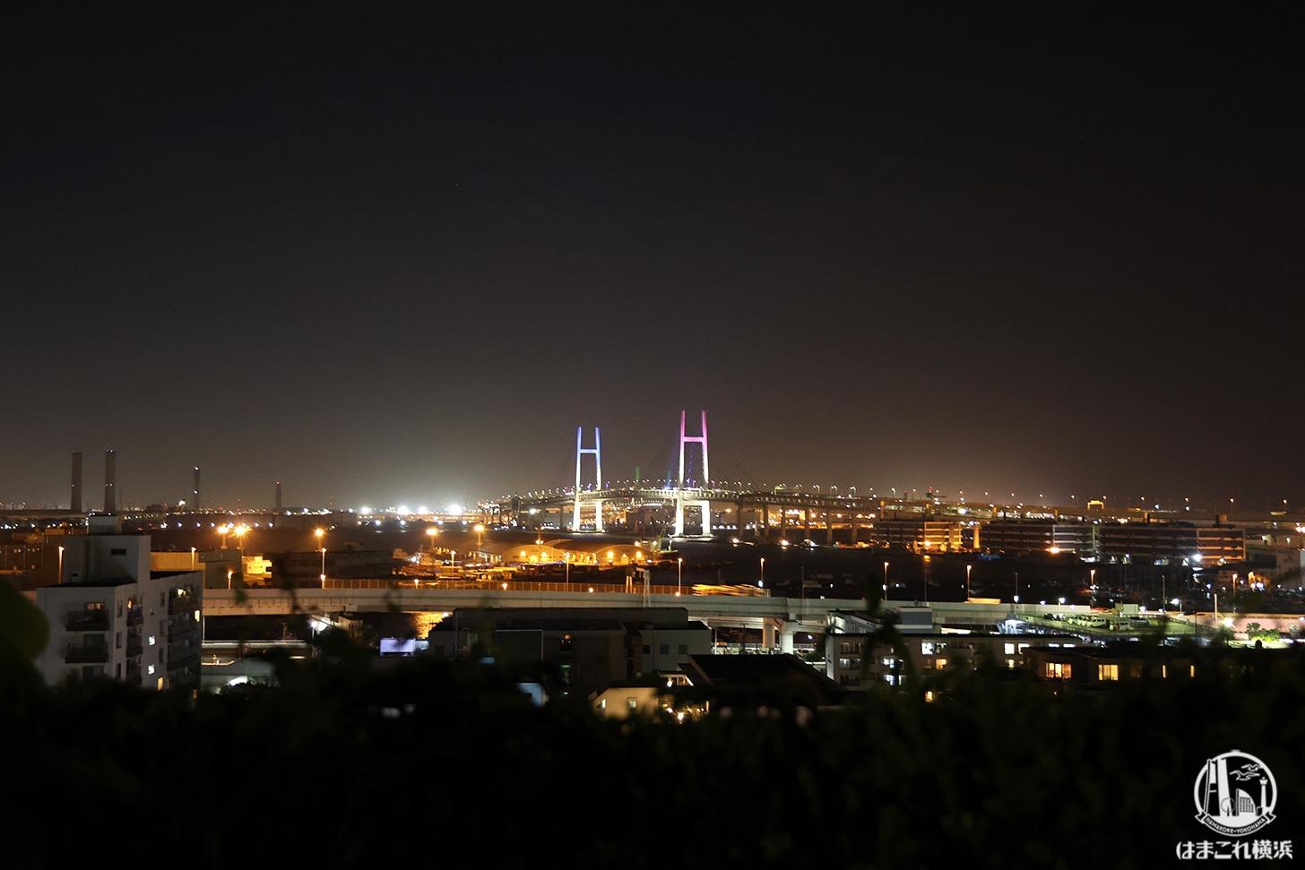 横浜ベイブリッジの特別演出