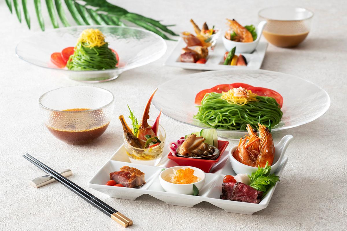 横浜のインターコンチネンタルホテルに「特製 冷やし翡翠麺」今年も登場!夏の風物詩