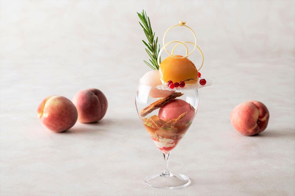 パルフェ ペッシェ~桃のパフェ~