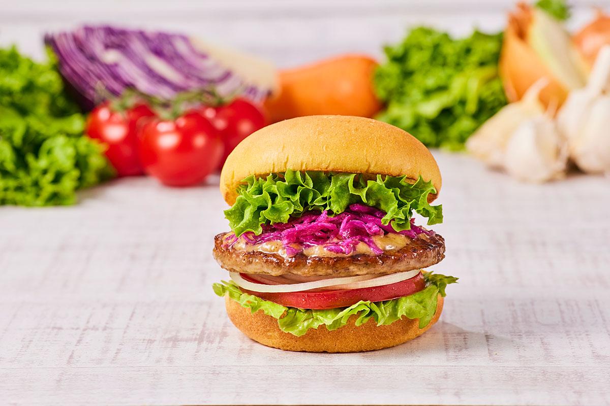 フレッシュネス「ガーデンサラダバーガー」新発売!史上最強にFRESHNESSなバーガー
