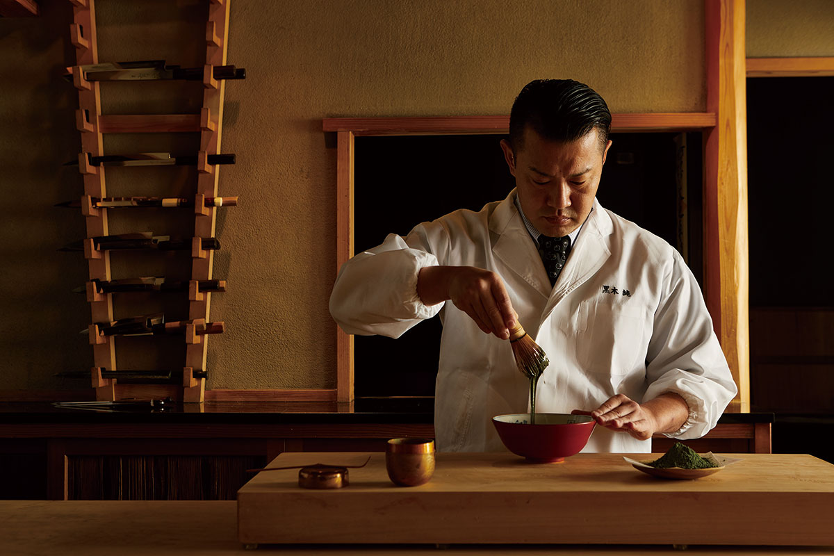 日本料理「くろぎ」主人・黒木純氏