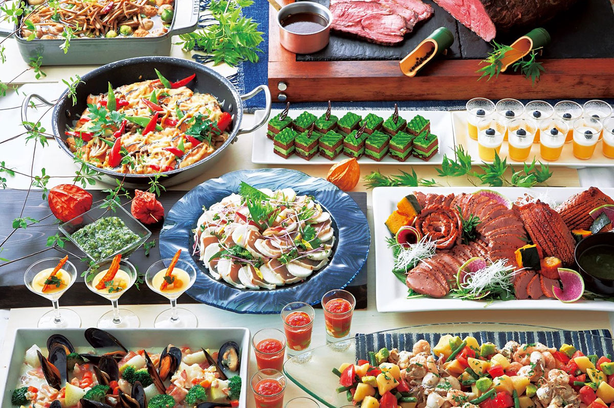 """横浜ロイヤルパークホテル「シリウス」""""世界食の旅""""第3弾で日本のおもてなしをテーマにブッフェ展開!"""