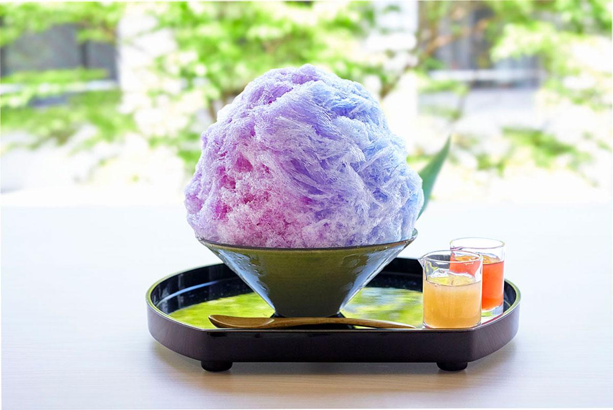 鎌倉小町 紫陽花氷