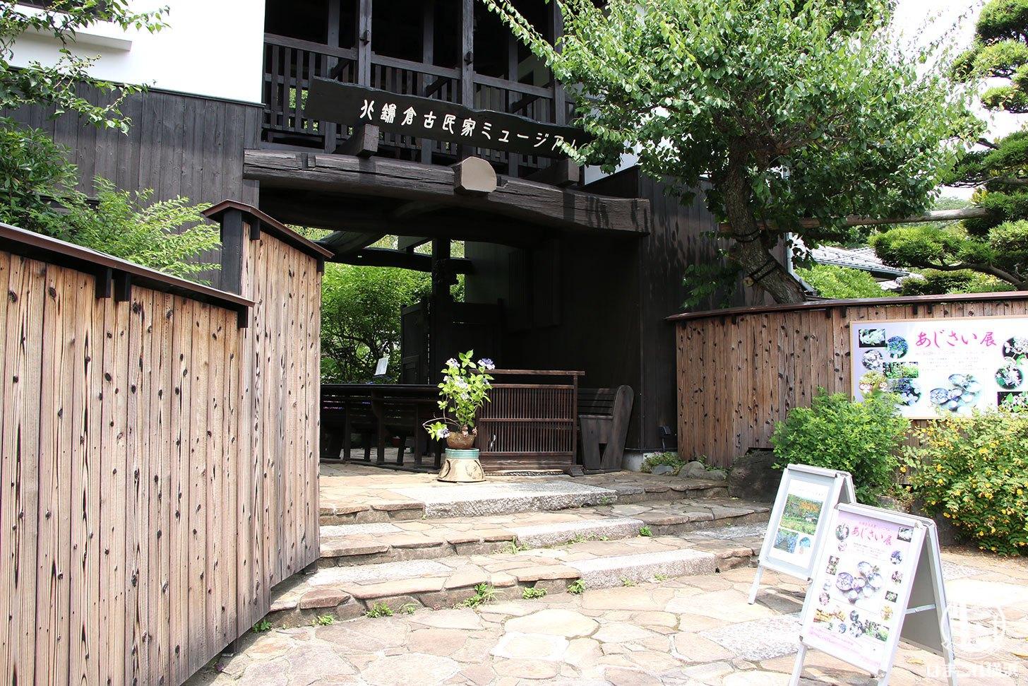 北鎌倉古民家ミュージアムのあじさい展