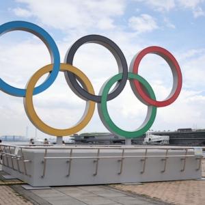 オリンピックシンボル設置