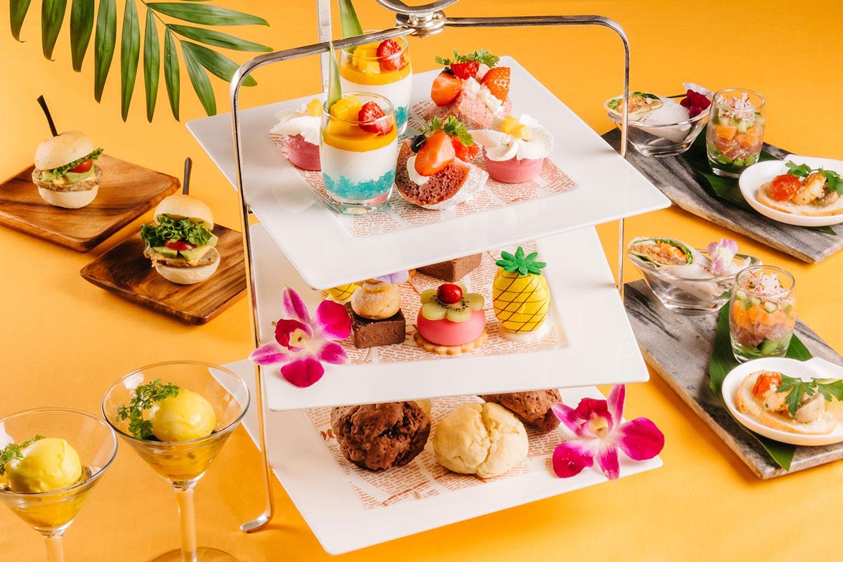 新横浜プリンスホテル「ハワイアンアフタヌーンティー」登場!部屋で味わう宿泊プランも