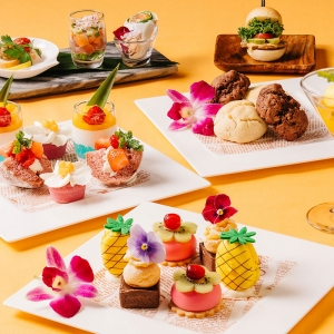 新横浜プリンスホテル「ハワイアンアフタヌーンティー」開始!部屋で味わう宿泊プランも