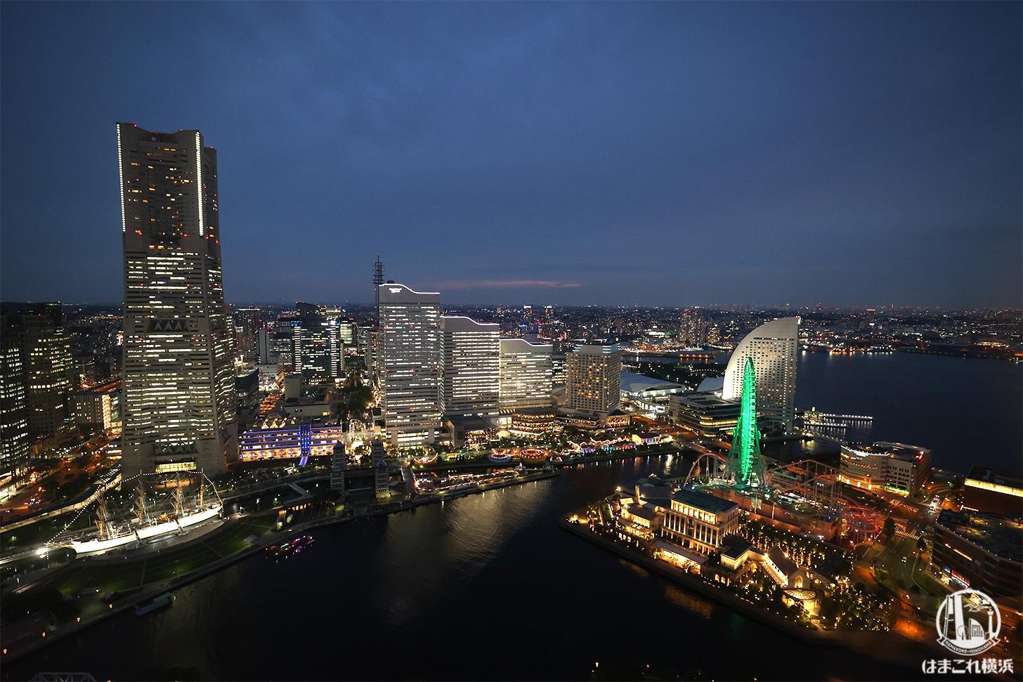 夜景も凄すぎ!横浜北仲ノット(ザ・タワー横浜北仲)無料展望台46階から見た世界