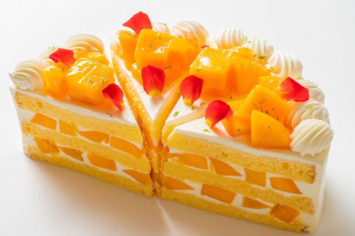 極上マンゴーショートケーキ