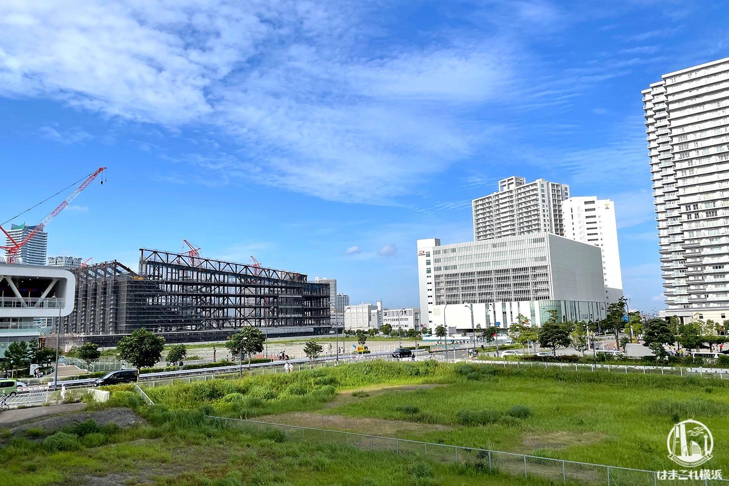 横浜グランゲートから見た60・61街区