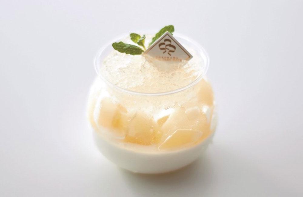 白桃レアチーズケーキ