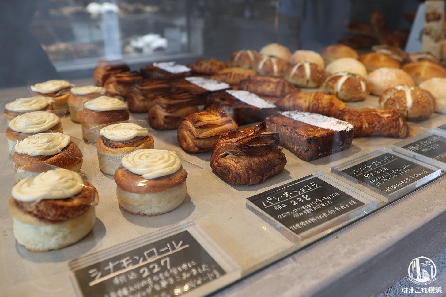 甘い系のおやつパン