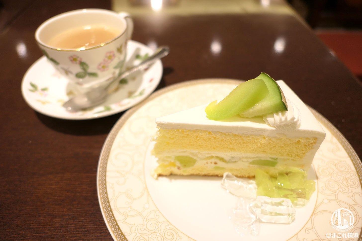 横浜駅「カフェ ラミル」季節のショートケーキ食べてみた!ジョイナス穴場カフェ