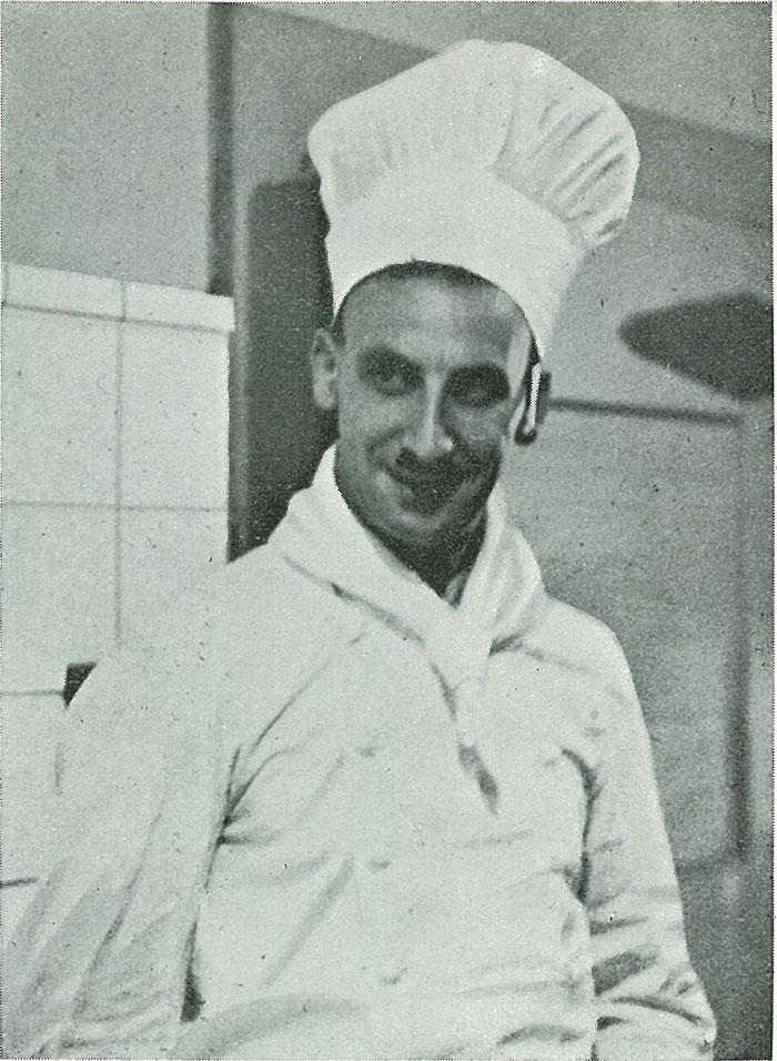 初代総料理長 サリー・ワイル