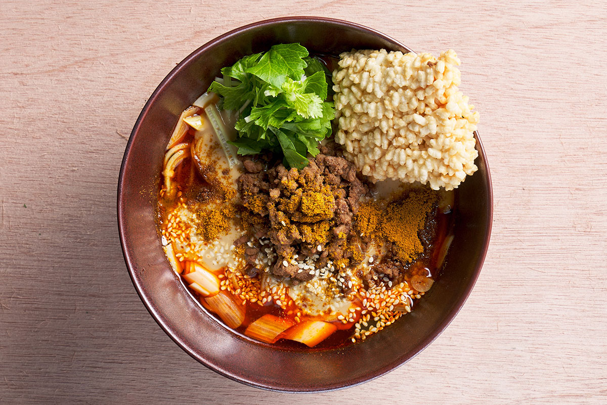 カレー担々麺(1,320円・税込)