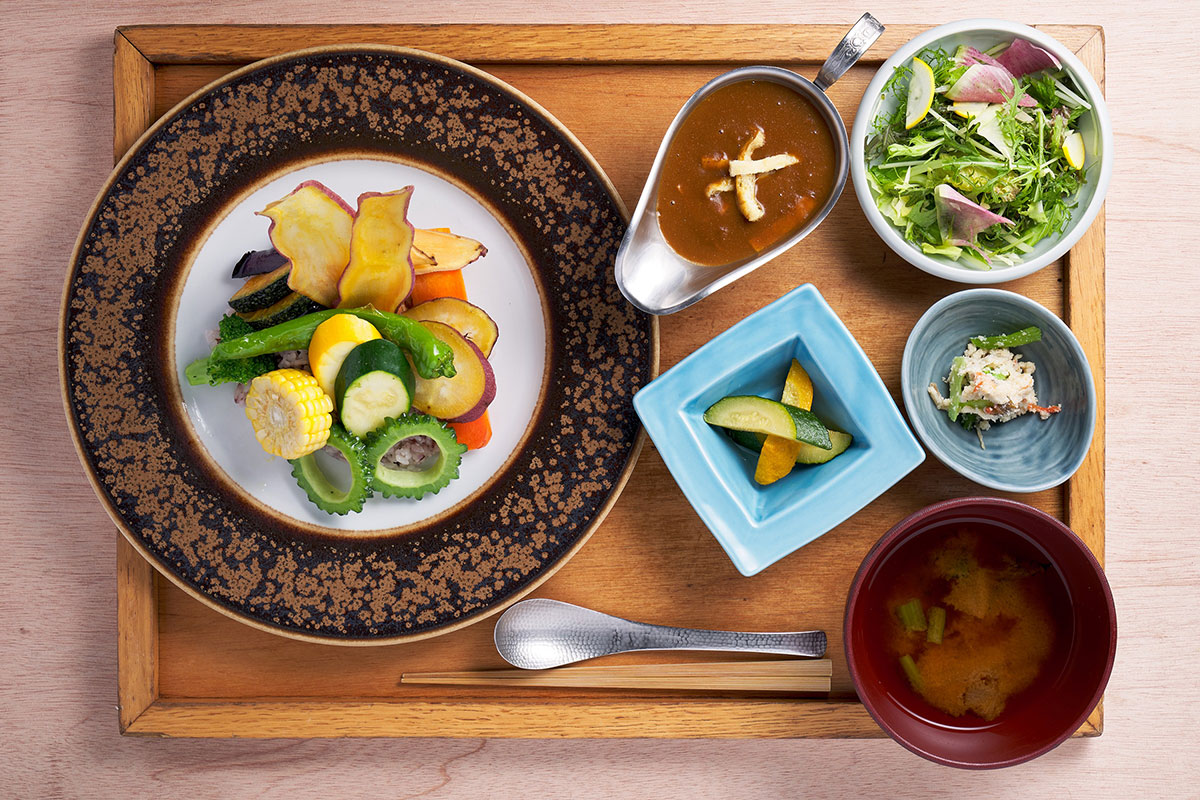 お野菜たっぷりカレー定食(1,639円・税込)