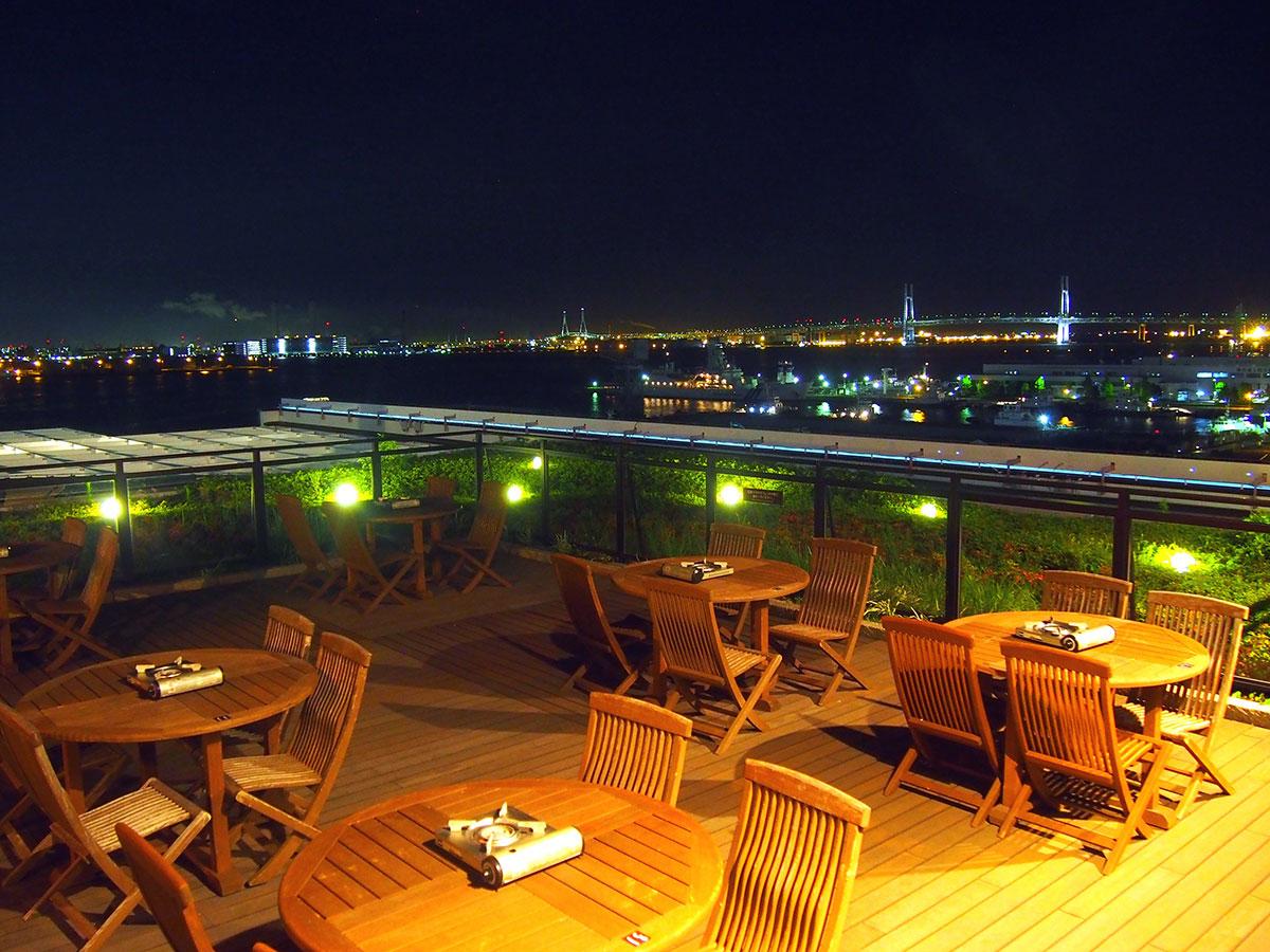 横浜みなとみらい万葉倶楽部「ノンアルコールビアガーデン」開催!屋外テラスで絶景BBQ