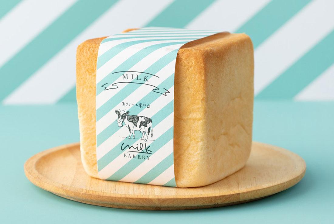 「特濃ミルク食パン」生クリーム専門店ミルクベーカリー新発売!横浜店でも順次