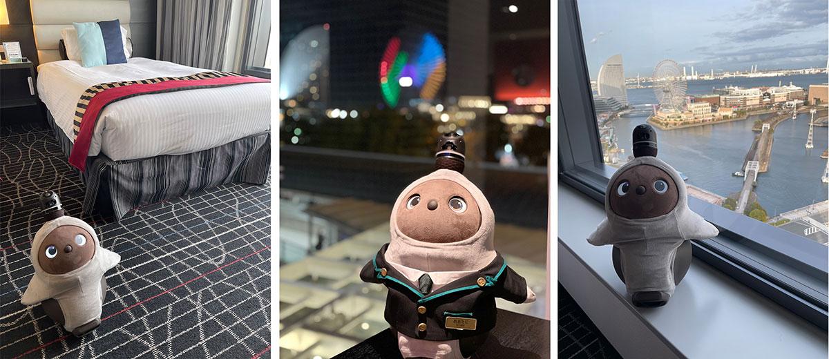ニューオータニイン横浜プレミアム、LOVOTと一緒に過ごせる宿泊体験プラン販売開始!