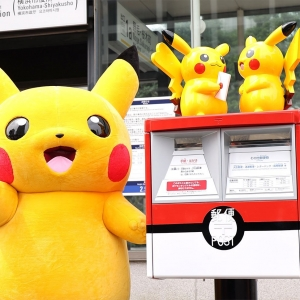 横浜のポケモンオリジナルポスト全部見てきた!ポケモン切手の可愛さにも一目惚れ