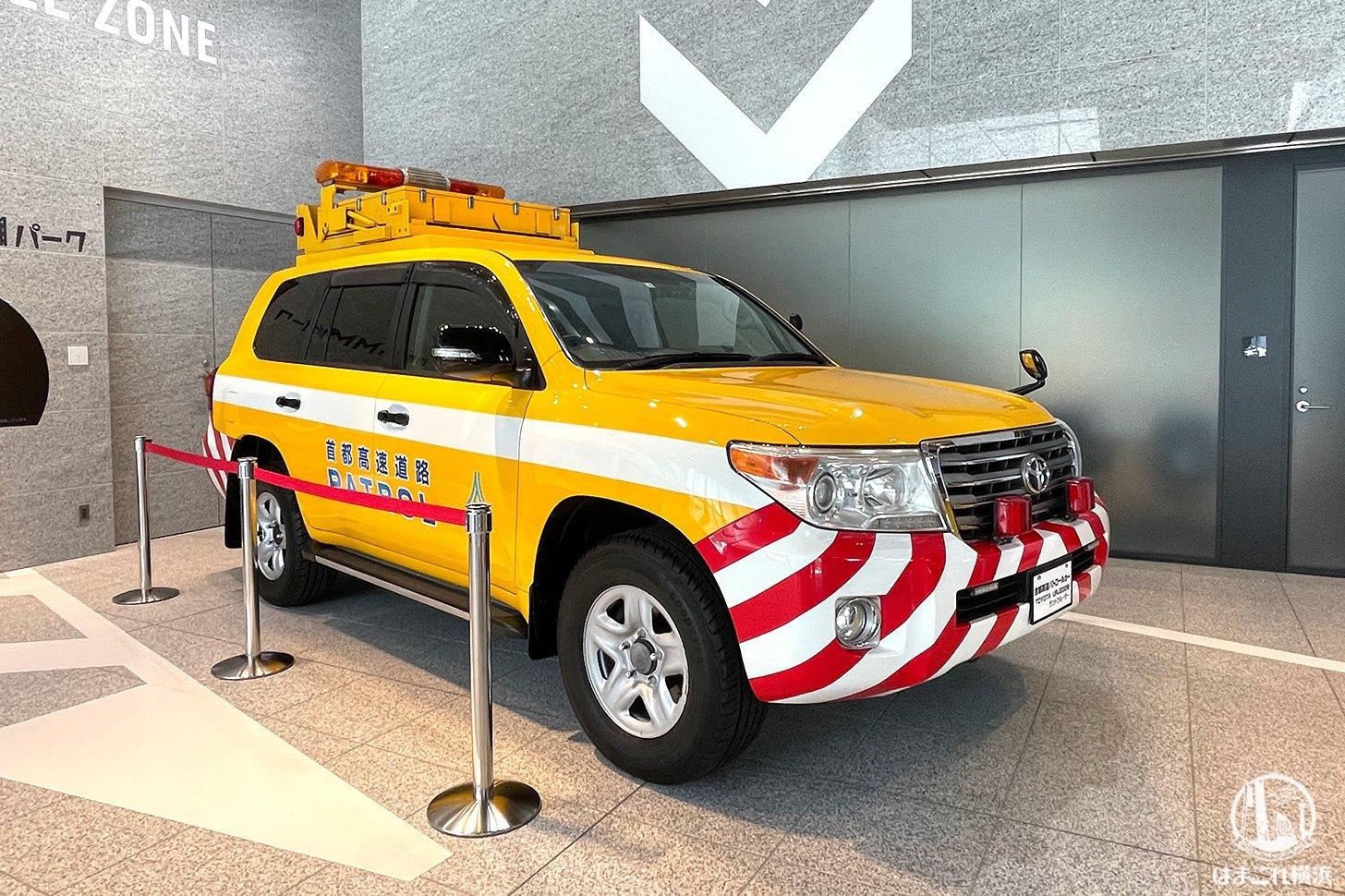 首都高パトロールカー