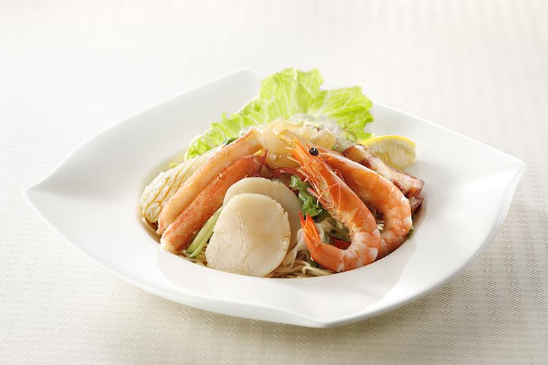 銀座アスター海鮮冷麺