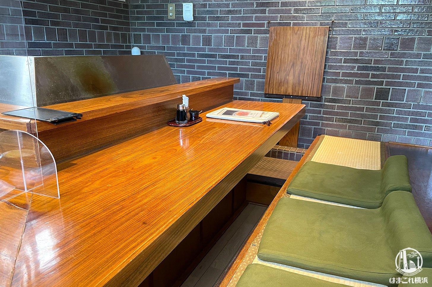 天吉 個室タイプの掘り炬燵タイプの席