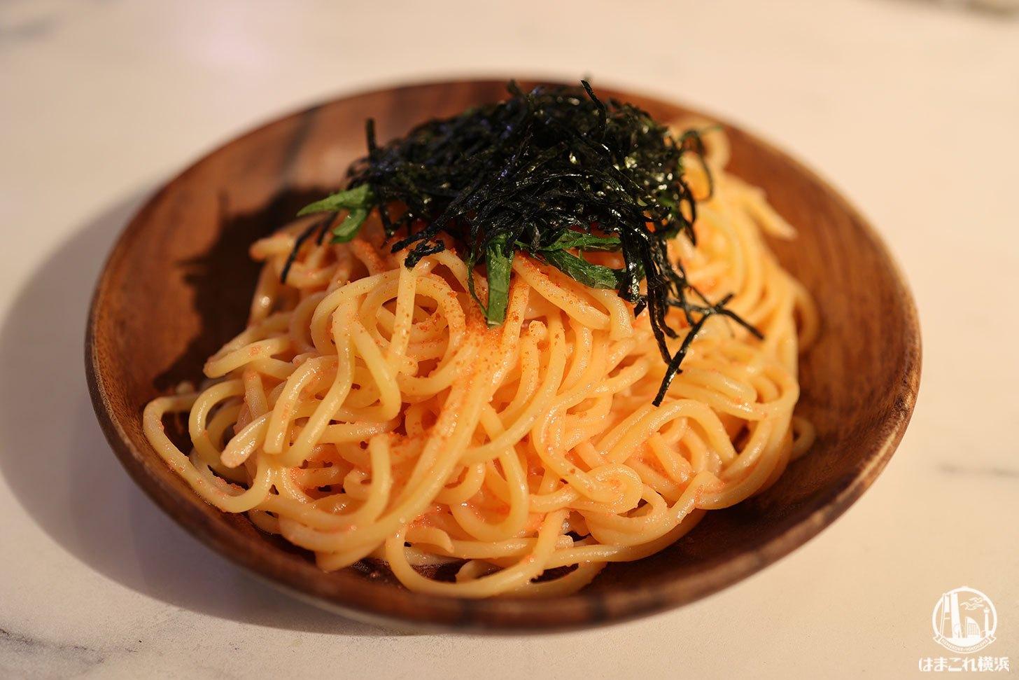 """横浜スパゲティアンドカフェで自家製練りたて本格""""生パスタ""""ランチ!みなとみらい東急スクエア"""
