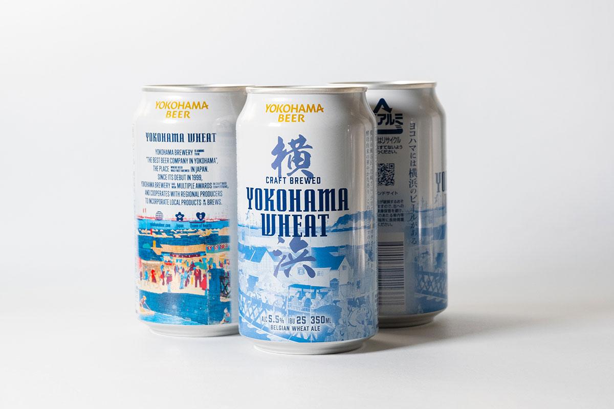 横浜ビールの缶ビール「横浜ウィート」新登場!横浜の小麦を使用した爽やかな白ビール