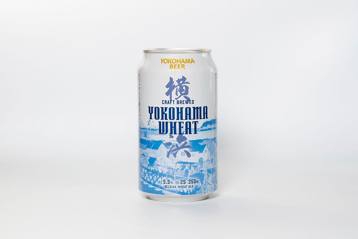 横浜ウィート(缶ビール)デザイン