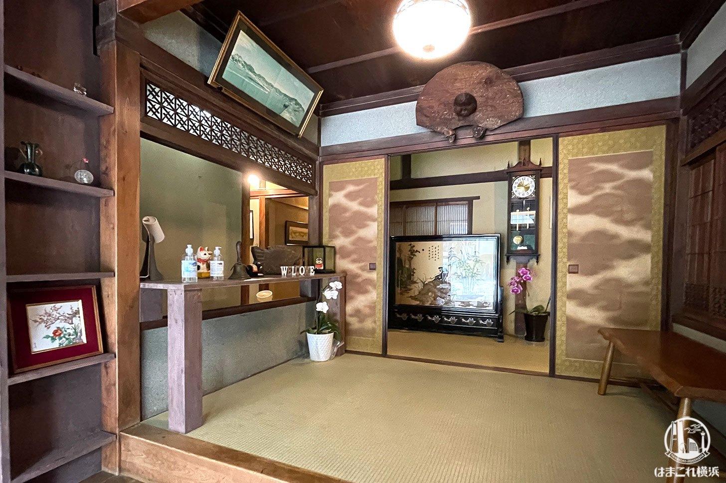 カフェ金澤園 店内入口