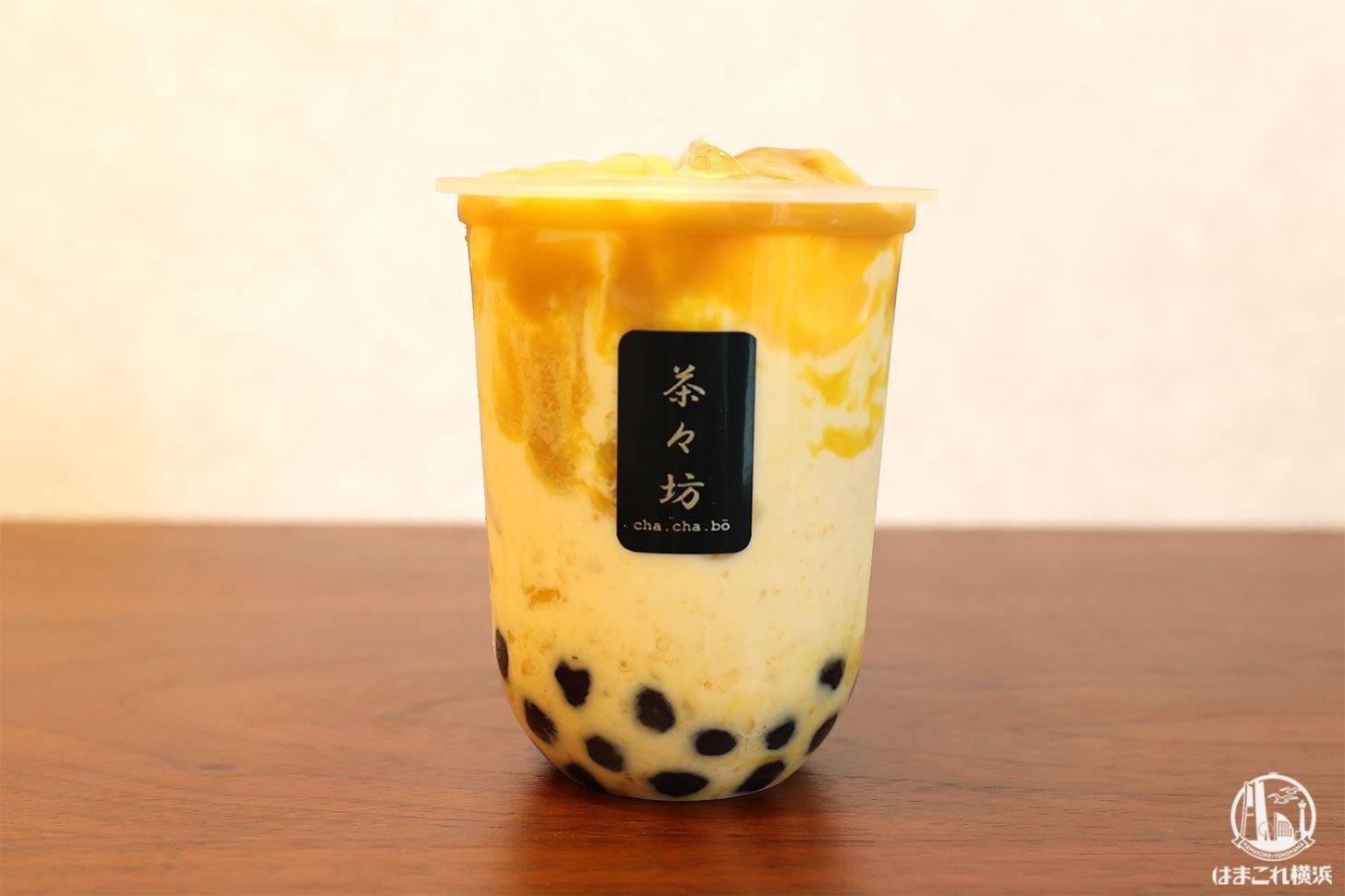 Premium生マンゴータピオカミルク
