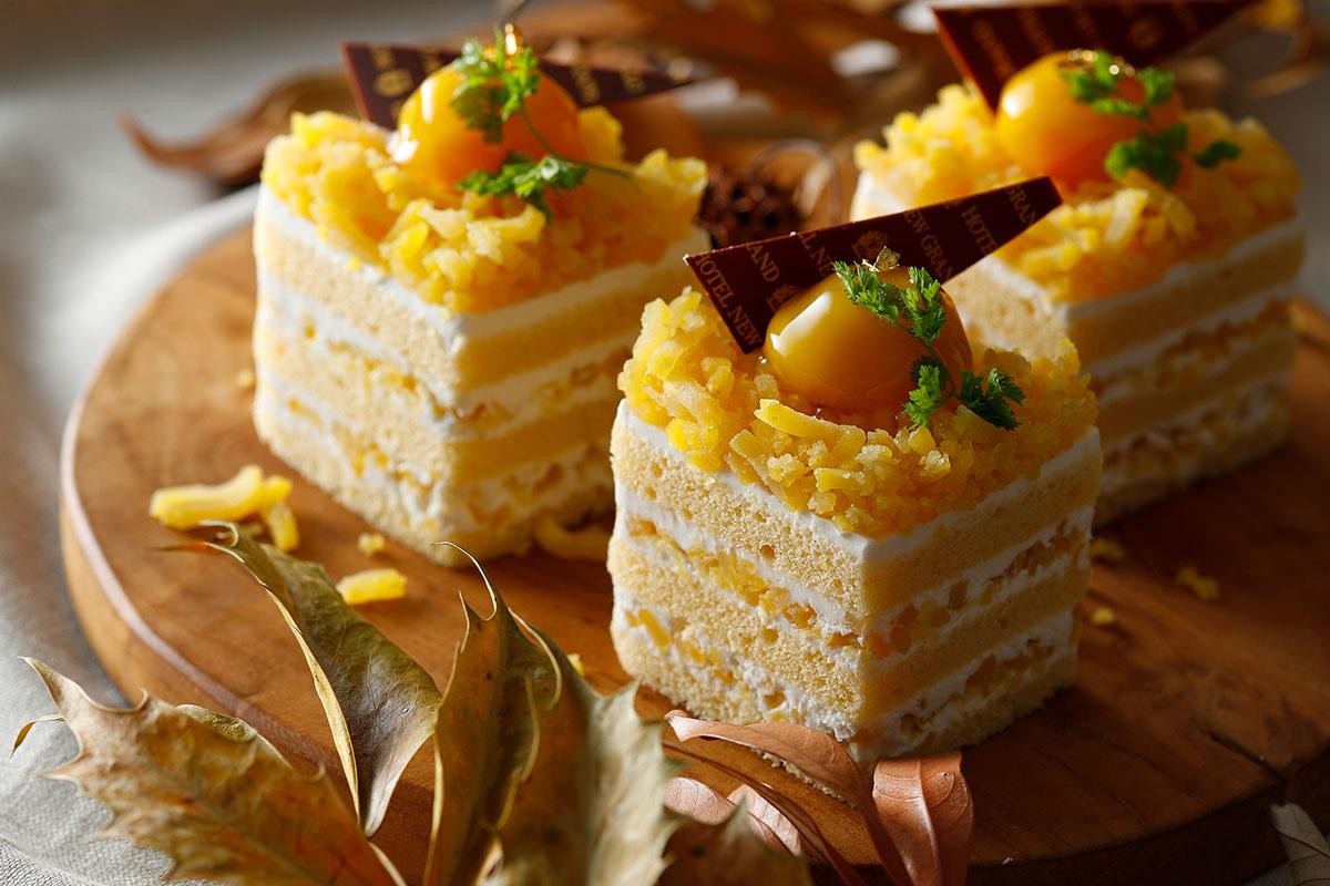栗のプレミアムショートケーキ