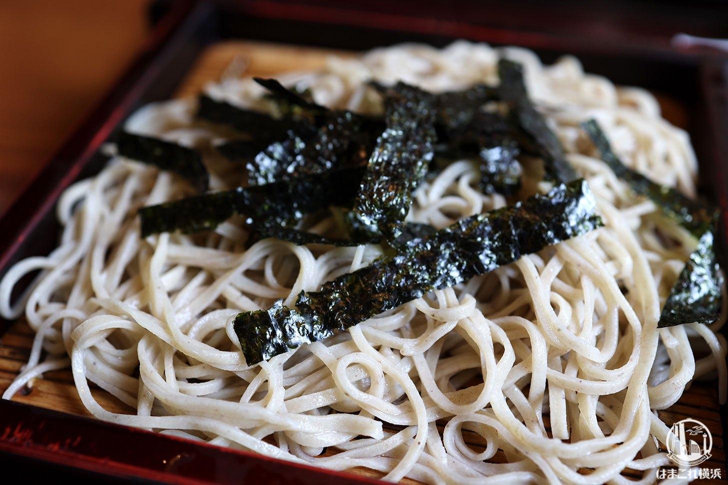野菜天ぷら 蕎麦
