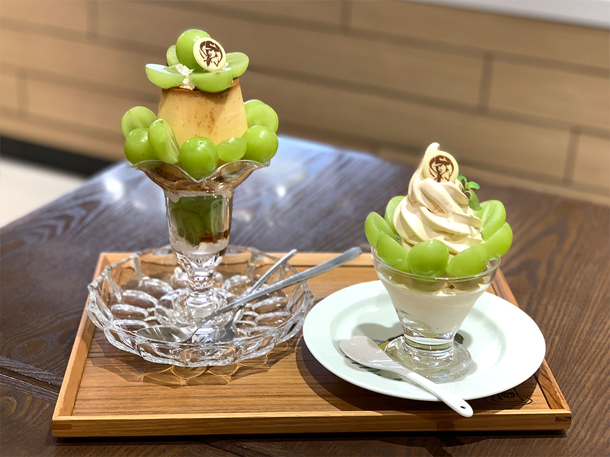 マーロウブラザーズコーヒー「シャインマスカット」使ったパフェやデザート限定販売!