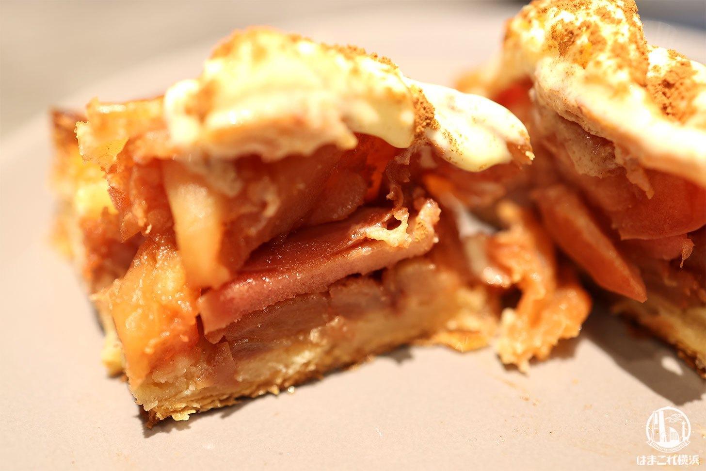 紅玉とふじりんごのアップルパイ