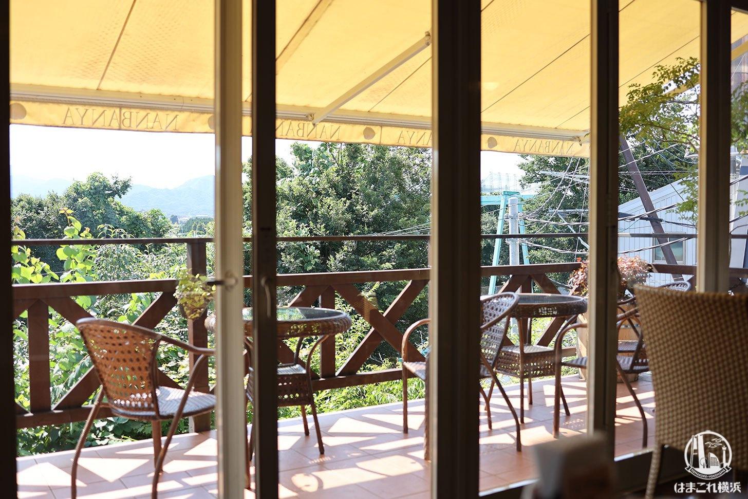 南蛮屋ガーデン 窓から見た風景